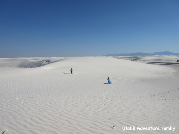 White Sands National Monument is amazing!