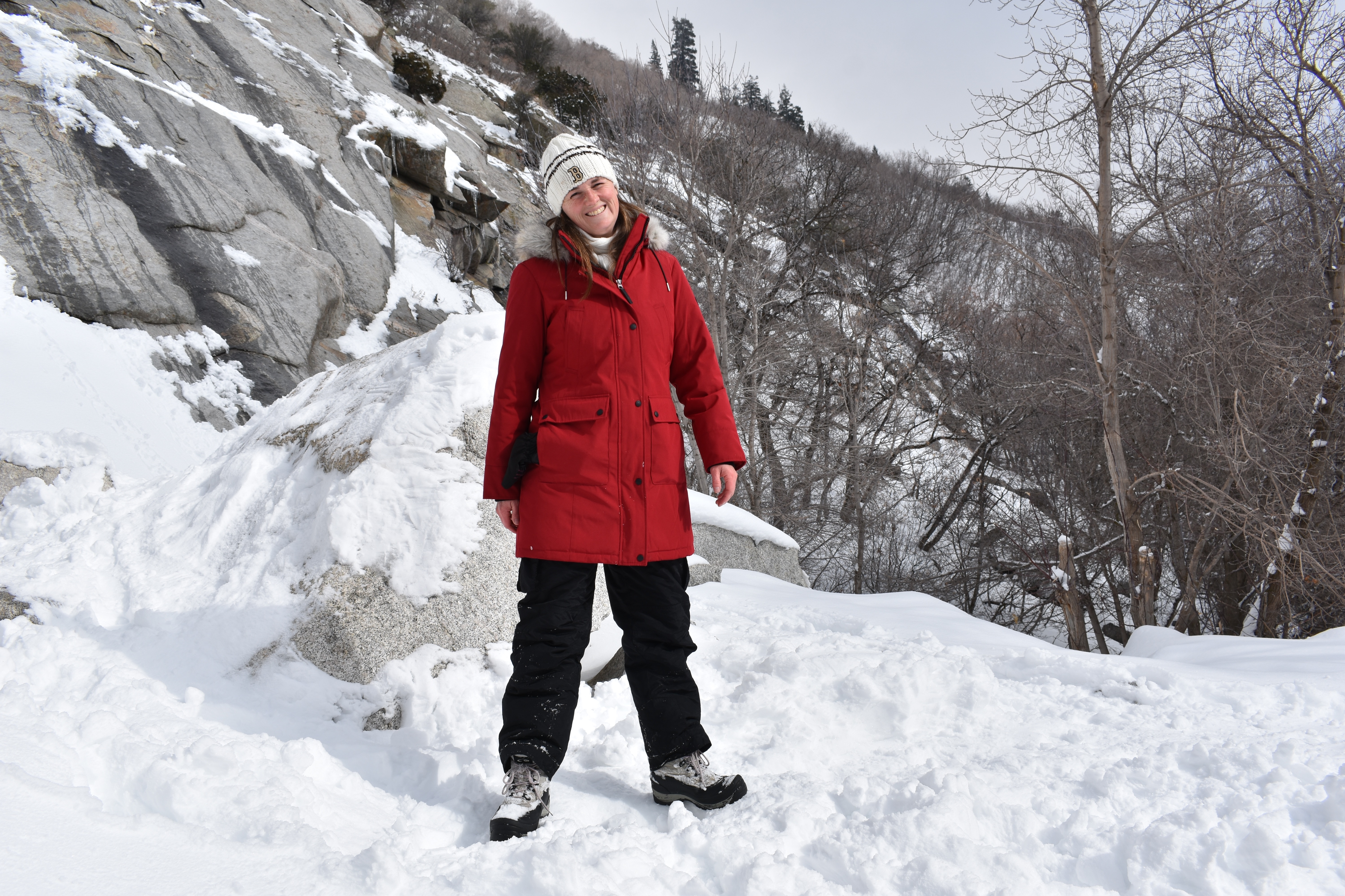 One slip is all you get: winter hiking is more popular ... |Hiking Snow