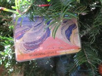 Goosenecks Postcard Ornament at the 2016 Monticello Fesival of the Trees