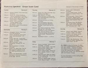 LTUE 1 program side 2 (from Dave Doering)