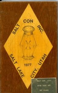 Saltcon Plaque, Star Trek Art 1st Place (Julia Howarth) (smaller)