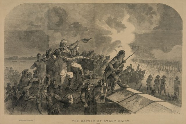 Anthony Wayne at the Battle of Stony Point