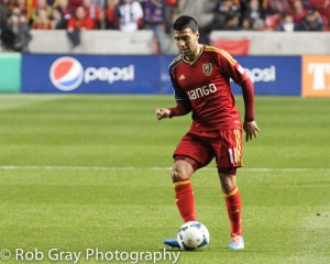 Real Salt Lake and the Portland Timbers Western Conference Final