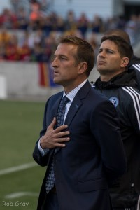 Jason Kries in his first match back at Rio Tinto