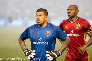 RSL Goalkeeper Nick Rimando (Photo Rob Gray)