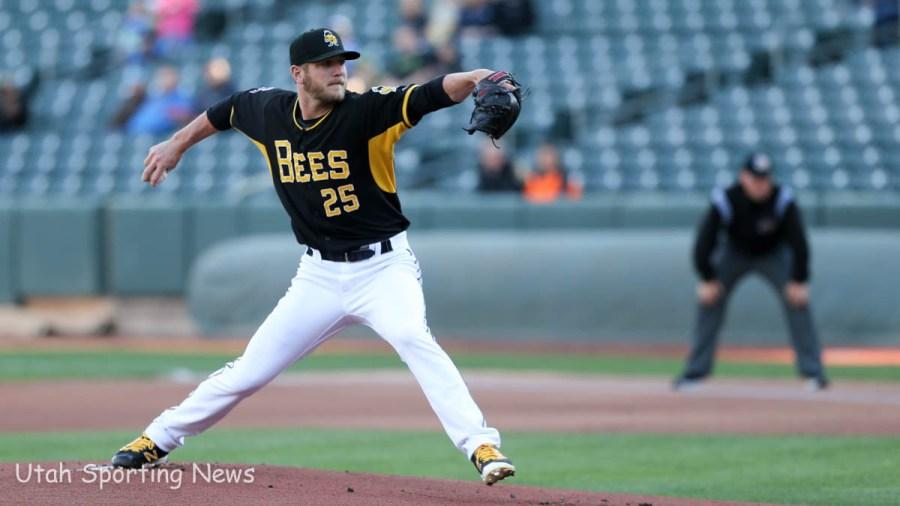 Bees pitcher Drew Gagnon