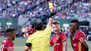 Rusnak yellow card