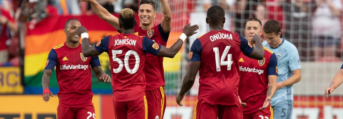 Real Salt Lake 3 points on the back of Sam Johnson