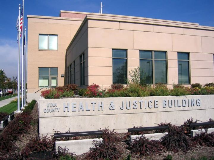The Utah County Health Department Tobacco Prevention and Control Program health and justice building