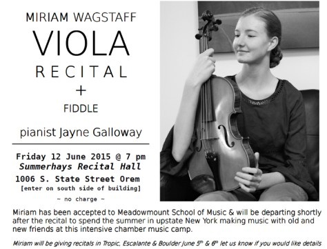 Miriam Wagstaff June 12