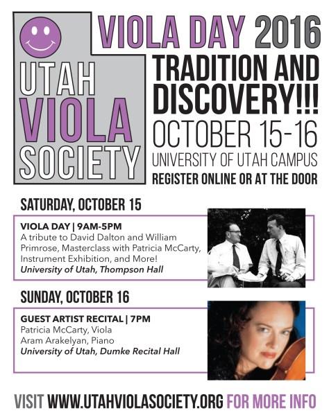 Viola Day Flyer