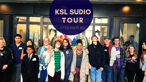 UTVA Students visit KSL Studio