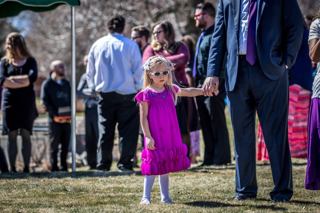 sad little girl Wasatch lawn salt lake city cemetery photography for funerals Ryan hender films