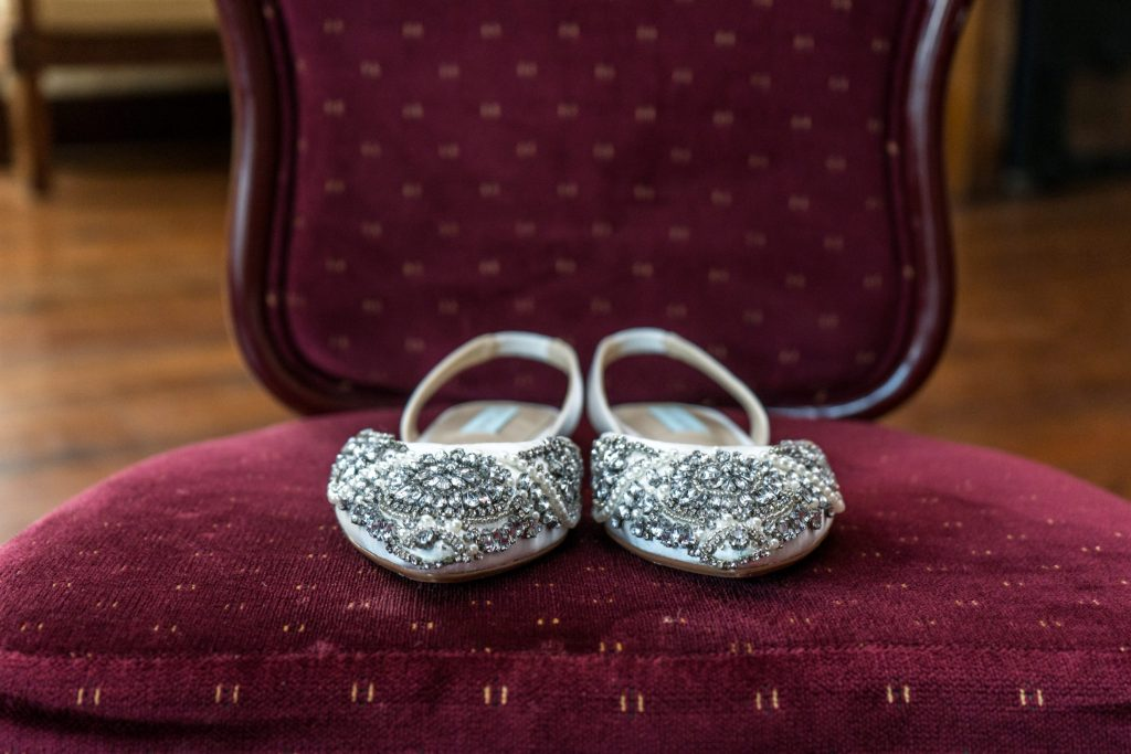 jewel bridal shoes