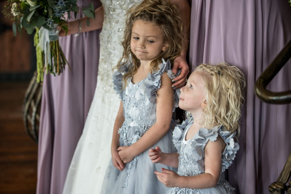 flower girls utah wedding photography