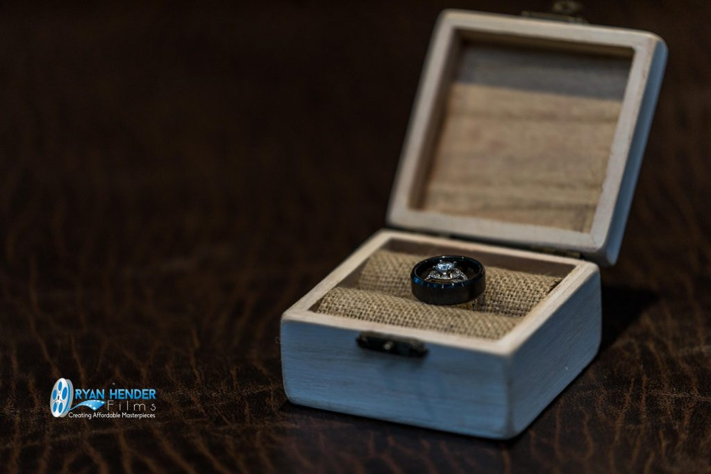 rings in box wedding photography