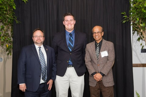 The Keith and Carolyn Weiss Industrial Engineering Scholarship Award Recipient: Joshua Bolton