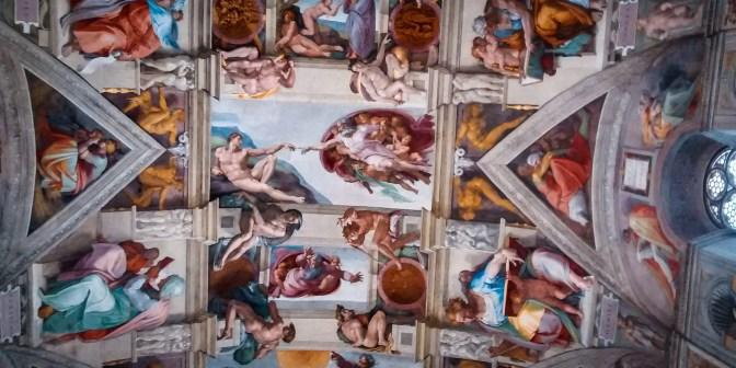 róma vatikán múzeum sixtusi kápolna