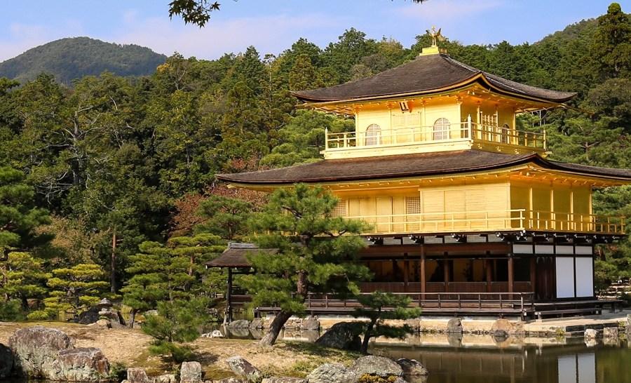 Kinkaku-ji, az Arany Pavilon