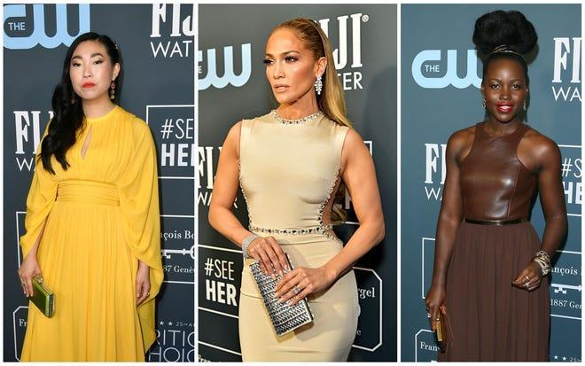 Awkwafina, Jennifer Lopez and Lupita Nyong'o
