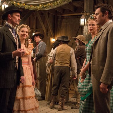 Macfarlane's Western comedy misses the mark