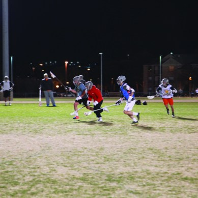Lacrosse team gets back in action