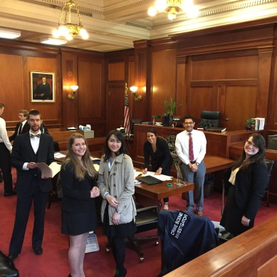 Mock Trial team advances to championship series