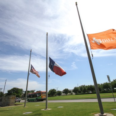 UTD alumna, students unharmed in Dallas shooting