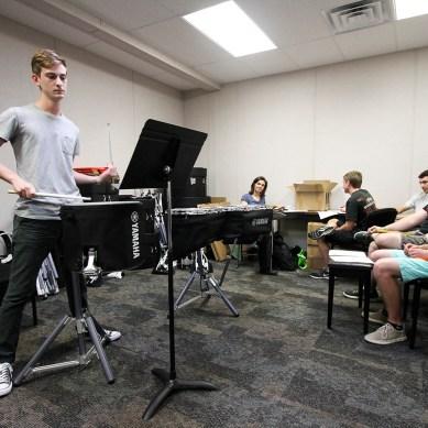 Campus gets first drumline