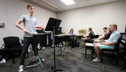 Campus gets first drumline