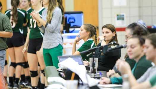 Volleyball coaches lead team to 300 wins