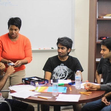 Program helps int'l students with accents