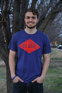 Chase Bosley, a healthcare studies sophomore, spent most of his childhood in the Mexia area, which is an hour away from Dallas. Photo by Saher Aqeel | Photo Editor.