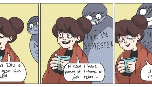 Semester anxiety
