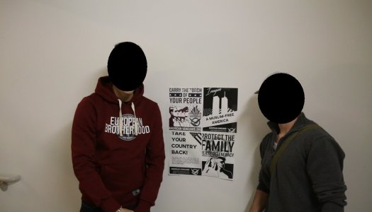 'White nationalist' fliers on campus prompt response from students, administration