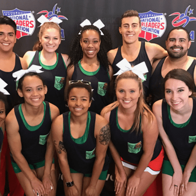 Cheer squad goes national
