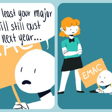 Emac is egone