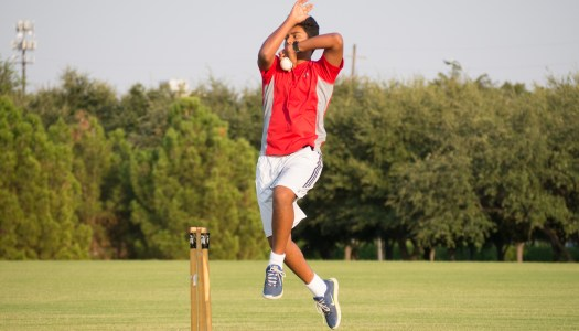 Freshman cricketer gains int'l experience