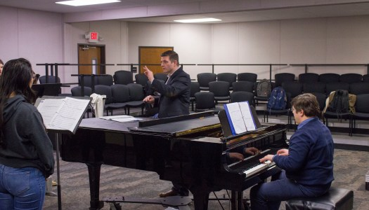 Professor directs choir for homeless people