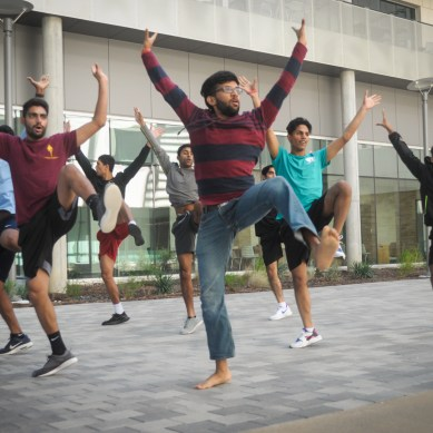 All-male dance team gains national recognition