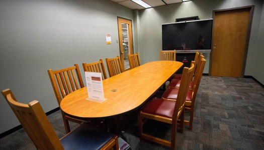 McDermott Library adds smart rooms