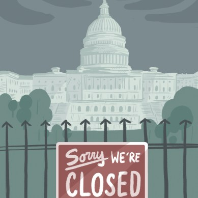 Shutdown at the D.C. corral