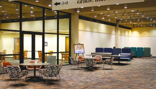 Library's third floor undergoes makeover