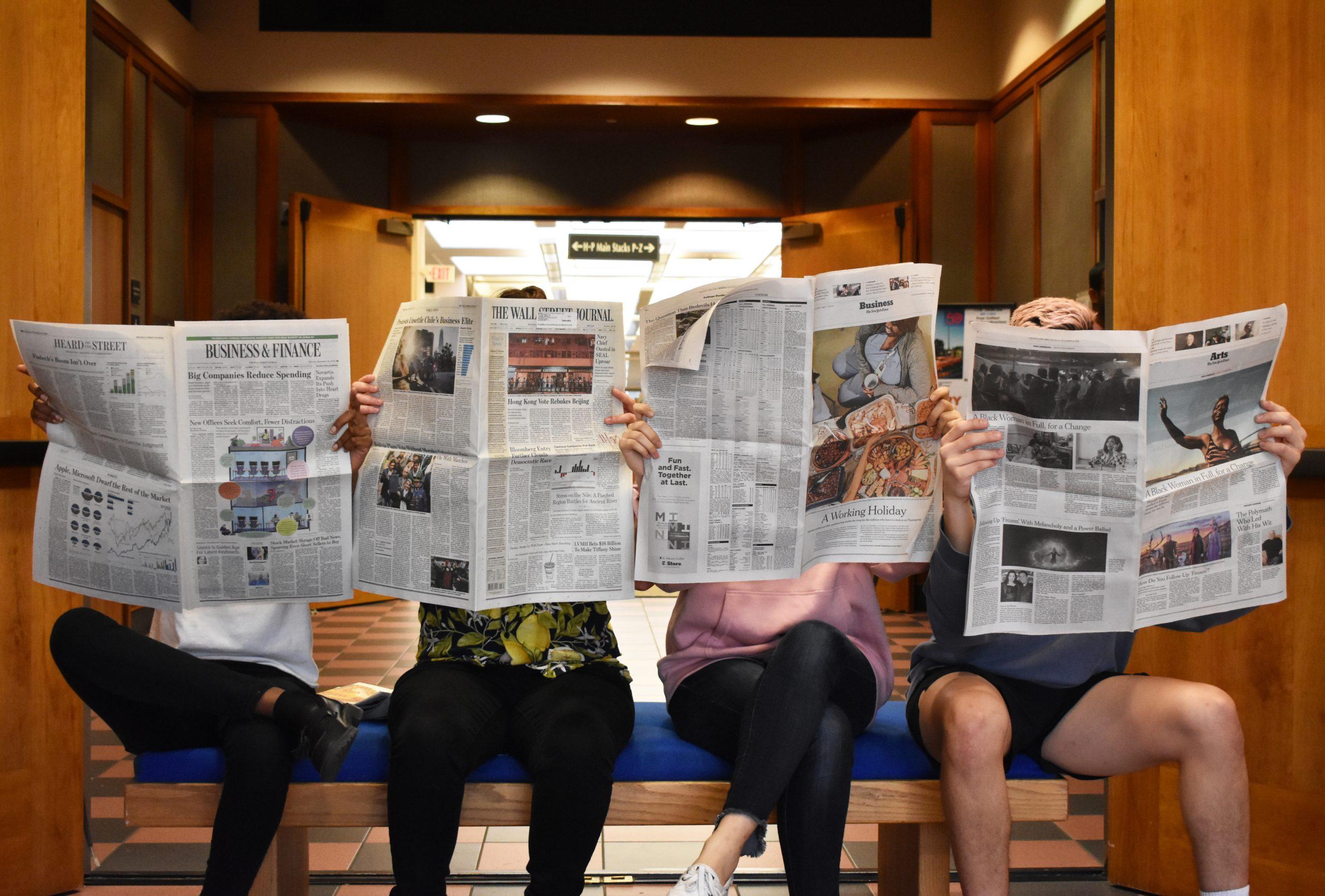 Survey Explores How Students Consume News