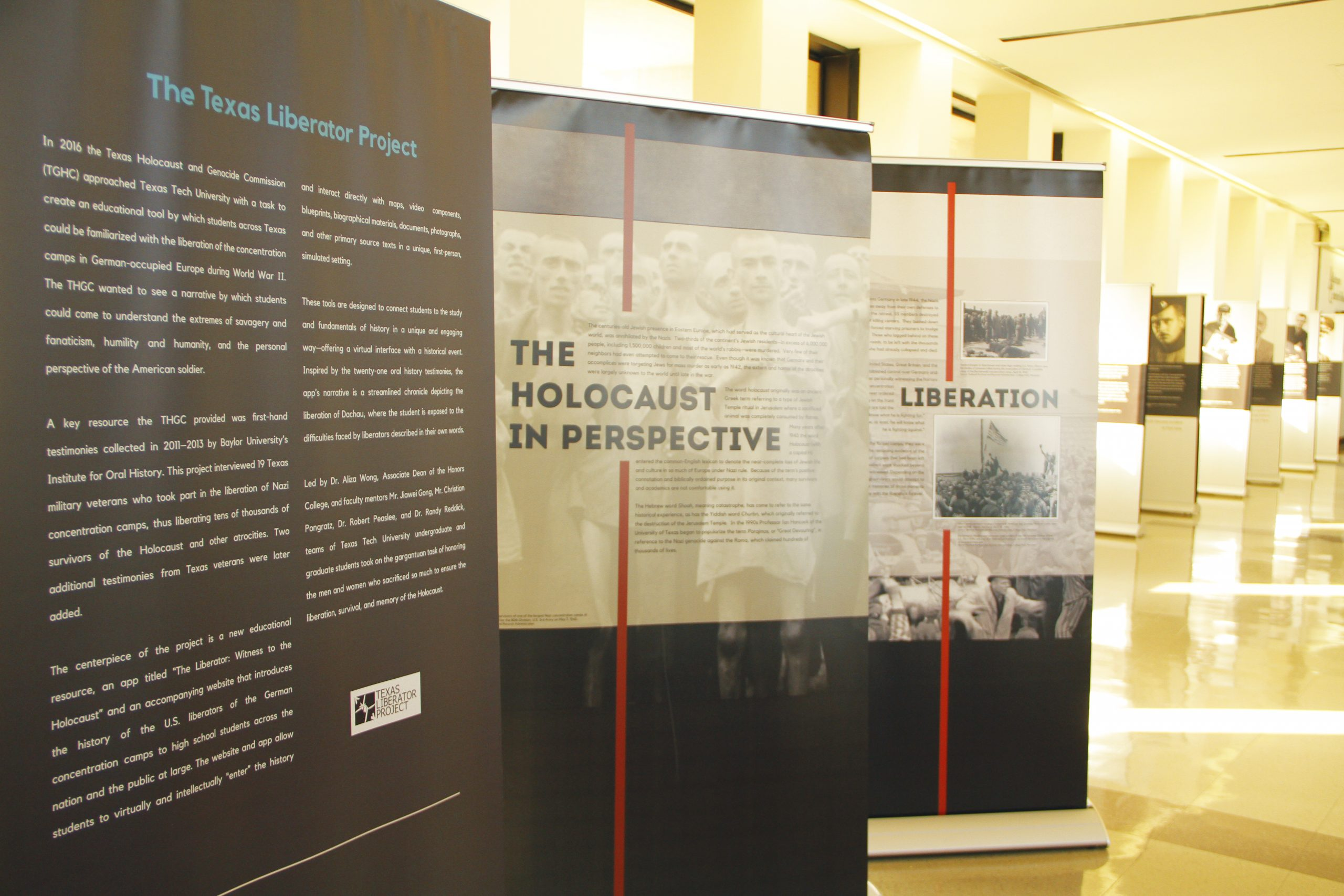 Exhibit Honors Holocaust Liberators