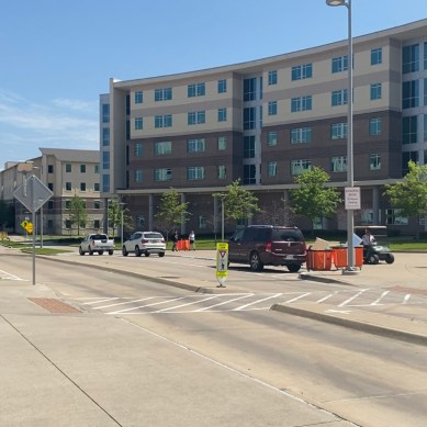 Students leave on-campus housing, adjust to moving back home