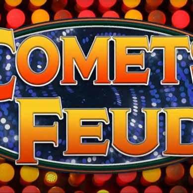 Comets play the Feud