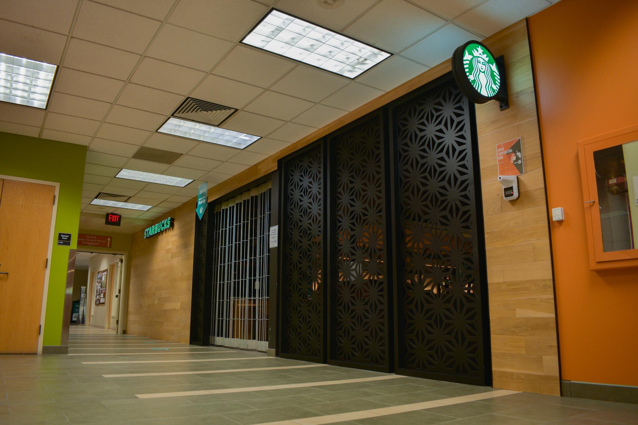 University closes select fall 2020 dining venues