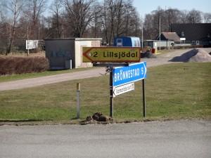 2 km till Lillsjödal