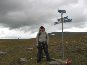 Gränsen mellan Norrbotten och Västerbotten.